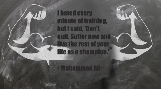 Words of a fighter